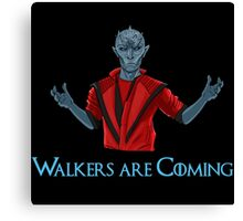 Funny White Walkers Thriller!  Canvas Print