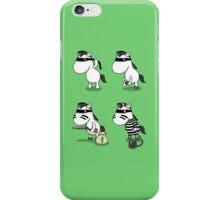 'How The Zebra Got It's Stripes' Comic Strip iPhone Case/Skin