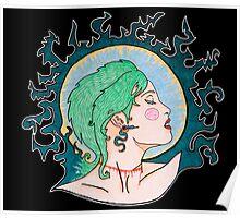 Modern Day Medusa Poster