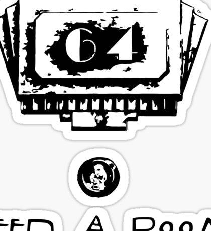 American Horror Story - Hotel room 64 Sticker