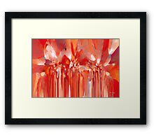 Angel of the LORD. Christian Modern Art Framed Print