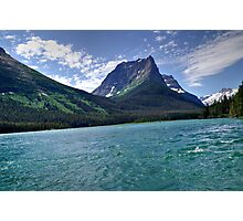 Glacier National Park St Mary's Lake View Photographic Print