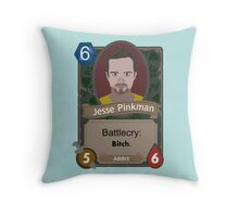 Breaking Bad Hearthstone Jesse Throw Pillow