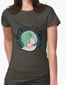 Modern Day Medusa Womens Fitted T-Shirt