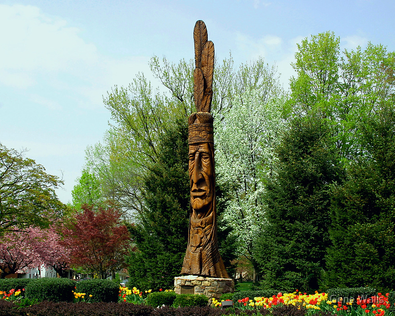 Chief Woapalanee Welcomes Spring by Gene Walls