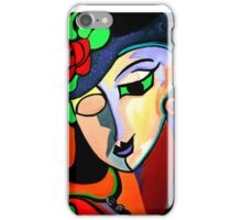 PICASSO THE ROSE iPhone Case/Skin