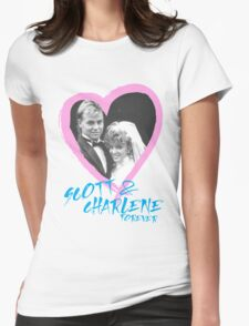 Scott & Charlene forever Womens Fitted T-Shirt