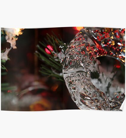 Crystal Wreath Poster