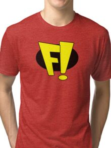 Freakazoid logo Tri-blend T-Shirt