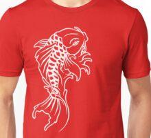 Koi - White Unisex T-Shirt