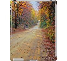 My Fall Drive iPad Case iPad Case/Skin