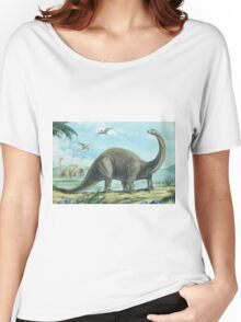 Brontosaurus Women's Relaxed Fit T-Shirt