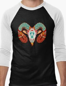 Aries Men's Baseball ¾ T-Shirt
