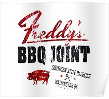 House of Cards Freddy BBQ Poster