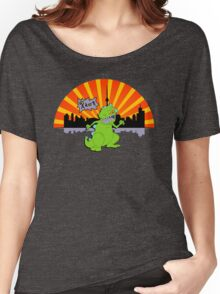 Reptar in da sity Women's Relaxed Fit T-Shirt