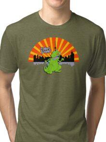 Reptar in da sity Tri-blend T-Shirt