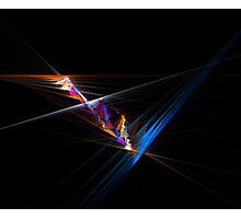 Sharp Rainbow Fractal Photographic Print