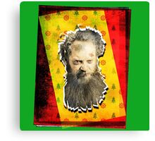 BAD SANTA CLAUS (FATHER CHRISTMAS) Canvas Print