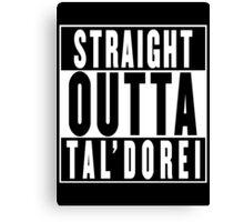 Critical Role - Straight Outta Tal'Dorei Canvas Print