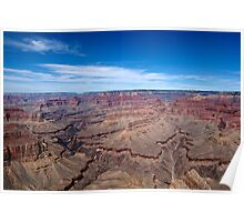 Grand Canyon Afternoon Blue Sky Poster