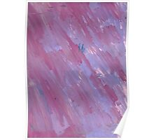 PINK AND PURPLE STREAKS Poster