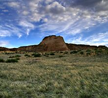 Pawnee Buttes Evening Sky by Michael Kirsh