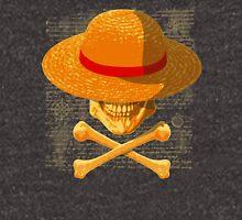 one piece LUFFY skull  realistic hat flag logo ワンピース Unisex T-Shirt