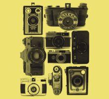 Retro Cameras Kids Tee