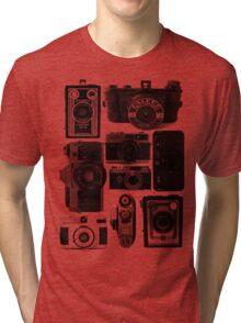 Retro Cameras Tri-blend T-Shirt
