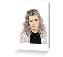 Harry Silver Greeting Card
