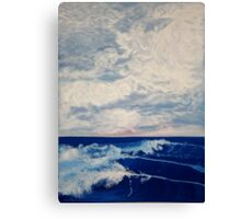 Paddle Out Canvas Print