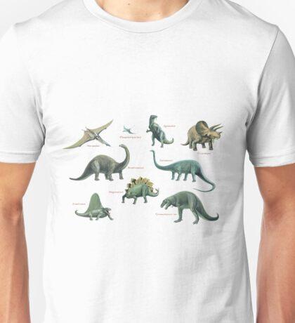 Dinosaur montage Unisex T-Shirt