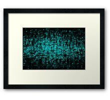 Abstract sparkling disco background Framed Print