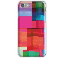 datamoshing 3 iPhone Case/Skin