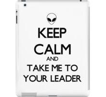 Keep Calm Alien iPad Case/Skin