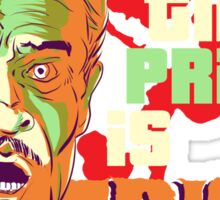 The Price is Fright Sticker