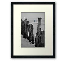 lennox head seven mile beach_1 Framed Print