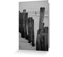 lennox head seven mile beach_1 Greeting Card
