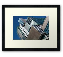 Perth City Library Office Tower Framed Print