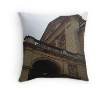 Cheltenham Town Hall Throw Pillow