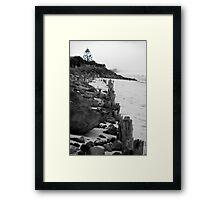 lennox head seven mile beach_3 Framed Print