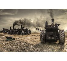 Giants of Steam  Photographic Print