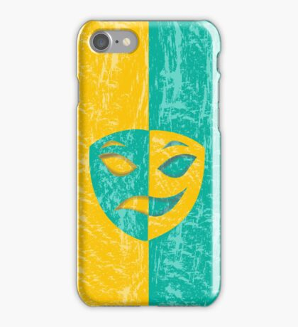 Sad happy 2 iPhone Case/Skin