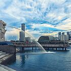 Merlion Park Singapore by Kelvin Won