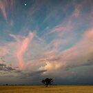 Big Sky Sunset by David Haworth
