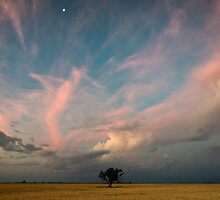 Big Sky Sunset by David Haworth