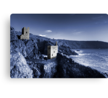 Bottallack in blue Canvas Print
