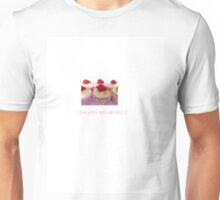 I love retro and cupcakes Unisex T-Shirt