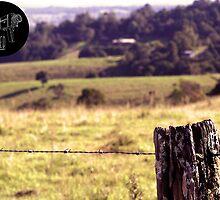 Fence post by photobyuntitled