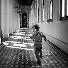 "Henry ""Running Running"" by Paul Grinzi"